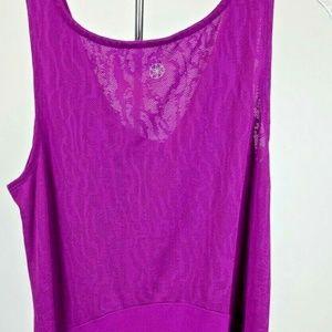 Gaiam Tops - GAIAM Women Top Athletic Tank Purple Sleeveless XS